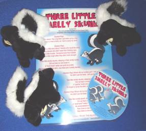 Three Little Smelly Skunks